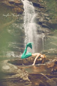 My mermaid photo shoot with @Taylor Boyd :3