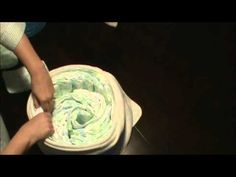 Topsy Turvy Diaper Cake Tut