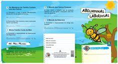 Cartão de classe Abelhinhas Laboriosas