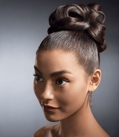Amazing Top Bun Updo And Wedding Bun Hairstyles On Pinterest Short Hairstyles Gunalazisus