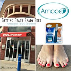 Getting Amopé Pedi P
