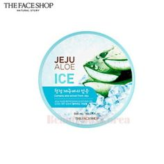 THE FACE SHOP Jeju Aloe Ice Soothing Gel 300ml