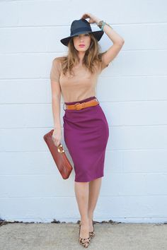 A New Take on Your Old Work Skirt!