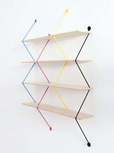 Floating Literature Holders : conceal book shelf