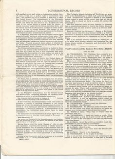 4-12 01 May 1939 Congressional Record 76th Congress First Session  Speeches of Hon. J. Thorkelson re: The most dangerous enemies are advocates of socialism and communism.