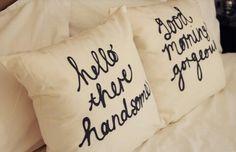 LDR Pillows