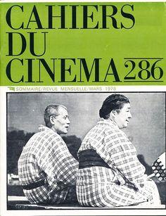 Ozu's Tokyo Story (1953). Cahiers du Cinema, No. 286, 1978.