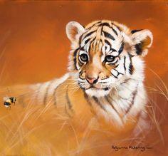Pollyanna Pickering - Limited Edition - Curiosity (Tiger cub)
