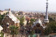 Park Güell is a stunning garden complex designed by Antoni Gaudí, the architect whose work has defined Barcelona.The gardens are filled with beautiful mosaics and statues, while the buildings are so pretty they look like they could have been made out of gingerbread.