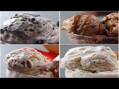 (94) ايس كريم او كلاص بريستيج سهل بسيط بثلاث نكهات مختلفة غيرمكلفة و بدووون بيض رووووووعة - YouTube