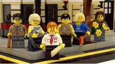 """Shaun Of The Dead"" LEGO Playset"