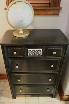 Dresser redo...I have a dresser that needs a new look. Gonna have to try this out when we get back stateside.