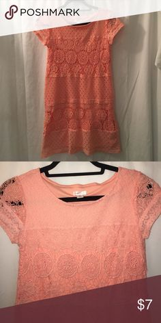 Women's size small light pink lace dress Great condition! Dresses