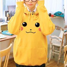 Japanese Kawaii Pikachu Long-Sleeve Sweater
