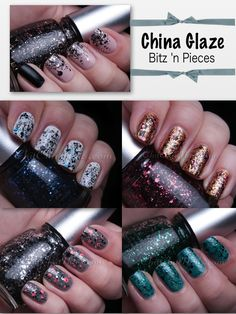 ChitChatNails » Blog Archive » My Bitz 'n Pieces Swatches