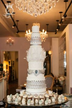 Wedding Cake Inspiration. To see more: http://www.modwedding.com/2014/06/13/gorgeous-wedding-cake-inspiration/ #wedding #weddings #cake Featured Wedding Cake: Connie Cupcake; Featured Photographer: Joee Wong | Photographer