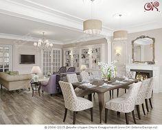 Дизайн современной гостиной on Дизайн интерьера квартир, фото 2015-2016…