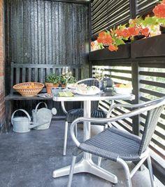 De balcon à terrasse dans un duplex de Montréal | Les idées de ma maison © TVA Publications | Mario Dubreuil #deco #terrasse #exterieur