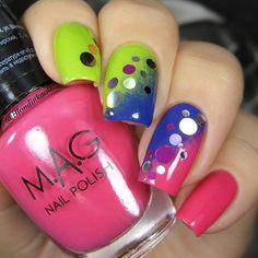 glitter sequins nails