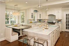 Alexandria VA White Kitchen - View 2