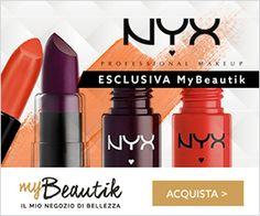Nyx cosmetics: codice SCONTO 10% su MyBeautik e link d'accesso al sito