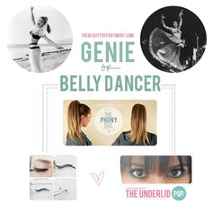 Halloween Help: Follow the links if you need a little beauty help for your genie/belly dancer costume.