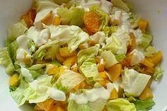 Eisbergsalat mit Mandarinen