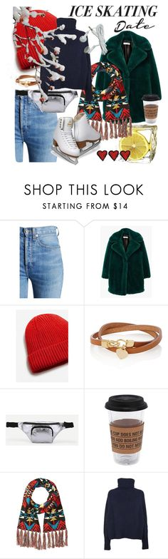 """""""Ice skating outfit"""" by fishshow ❤ liked on Polyvore featuring RE/DONE, MANGO, Puebco, Pendleton, Ermanno Scervino and iceskatingoutfit"""
