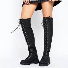 f884f28ee6c Image result for boots over knee biker Biker Boots