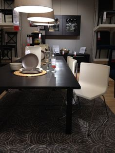 ikea bernhard chairs our new house pinterest dining. Black Bedroom Furniture Sets. Home Design Ideas