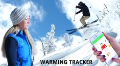 AppWEAR Warming Tracker Jacket allows temperature control from a mobile app. The app also tracks movements and activities for sharing. Snowboarding, Skiing, App Control, Stay Warm, First World, Utah, Oregon, Colorado, Crochet Hats