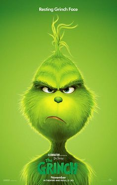Illumination and Universal Pictures present The Grinch, based on Dr. See the official trailer for The Grinch movie here. Watch The Grinch, The Grinch Movie, Il Grinch, Grinch Cake, 2018 Movies, Hd Movies, Action Movies, Maquillage Sf, Der Grinch Film