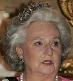 Tiara Mania: Sapphire Tiara worn by Infanta Pilar of Spain