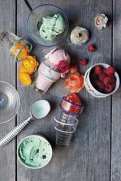 Ice Cream Containers / Anthropologie