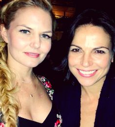Jennifer Morrison and Lana Parrilla (Morrilla)