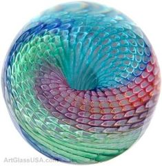 Art glass paperweights by April Wagner by ann