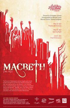Subplot Studio customizable poster design— Macbeth by Ryan Stiner