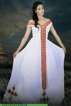 #Ethiopian_Fashion, #EthiopianFashion African Attire, African Wear, African Women, African Dress, Ethiopian Traditional Dress, African Traditional Dresses, Traditional Outfits, Moda Tribal, Tribal Mode