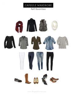 Capsule Wardrobe | Fall Favorites | My Website / Blog