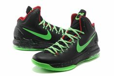 hot sales 63fde 6cd1d Nike KD V Really Cheap Black Electric Green Glow in the dark Kd Basketball  Shoes,