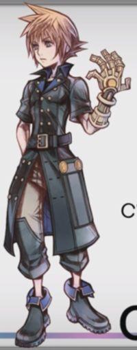 Lann, World of Final Fantasy