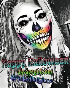Happy Halloween #vapefam! Have a good one from all of the team here at UKVAPEGIRL.COM  #vape #vapelife #halloween #ukvg #vapers #vaperazzi #ukvapers #vapegirls #ukvapegirl #driplyfe #subohm #halloween #vapehard #vapelove