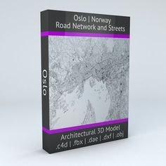 Oslo Road Network and Streets | 3D model
