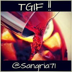 Start the #weekend with your #favoritestaff! #sangría71 #tgif #sangría