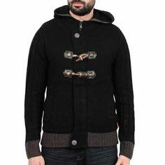 Sixth June - Gilet Laine Capuche Sweater Noir
