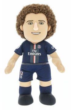 Poupluche David Luiz 25 cm - Paris Saint-Germain - Saison 2014/15 - 22,00 €