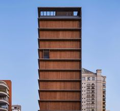 Project: Itaim Vertical; Location: Itaim Bibi, São Paulo; Architect: Márcio Kogan (Studio mk27)