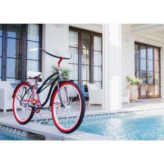 TGIF #villy #beach #cruiser #bike #relax