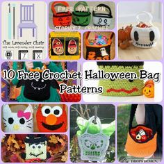 Making your own crochet halloween bag is perfect for going out Trick-or-Treating! May you could make on to match you or your child Halloween costume!