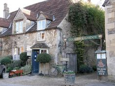 Kings John's Hunting Lodge Tea Rooms, Lacock village, Chippenham, Wiltshire, Cotswolds. a very preserved village (photo: Sue Hasker)